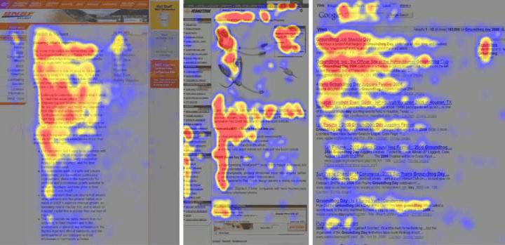 Was ist gutes Webdesign? | Beispiel Eyetracking-Studie